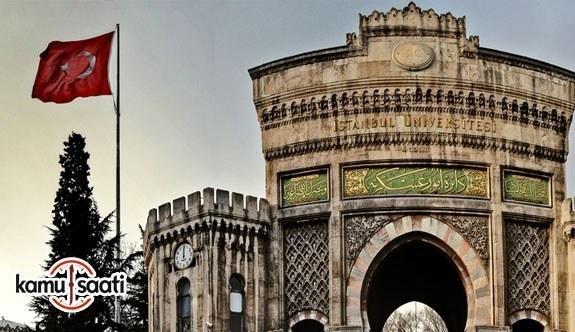 İstanbul Üniversitesi Önlisans ve Lisans Eğitim ve Öğretim Yönetmeliğinde Değişiklik