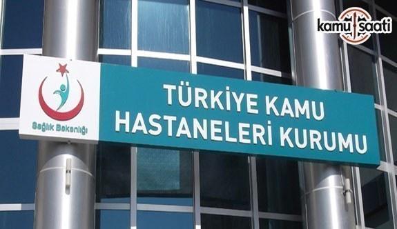 Türkiye Kamu Hastaneleri Kurumuna Bağlı Sağlık Tesislerinde Görevli Personele Dair Yönetmelikte Değişiklik