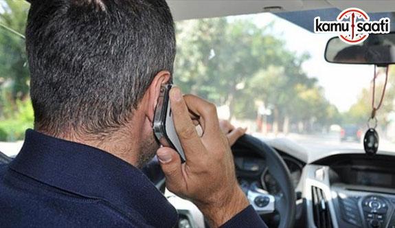 Cep telefonu aracınızı 'yoldan çıkarıyor'