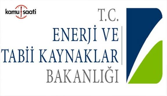 Enerji ve Tabii Kaynaklar Bakanlığı Personel Yönetmeliğinde Değişiklik Yapıldı