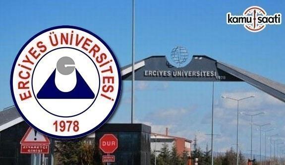 Erciyes Üniversitesi Sağlık Uygulama ve Araştırma Merkezi Yönetmeliğinde Değişiklik