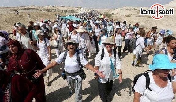Filistinli ve İsrailli kadınlardan 'barış yürüyüşü'