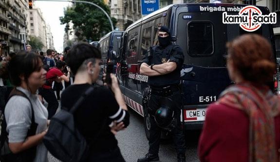 Katalonya'da olağanüstü gün