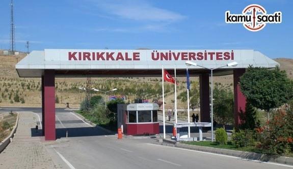 Kırıkkale Üniversitesi Spor Bilimleri Uygulama ve Araştırma Merkezi Yönetmeliği
