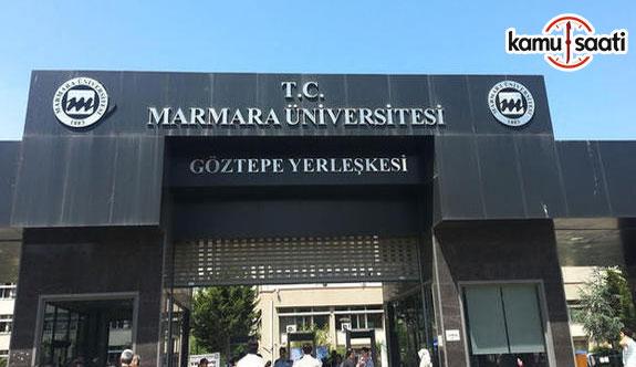 Marmara Üniversitesi Lisansüstü Eğitim ve Öğretim Yönetmeliği