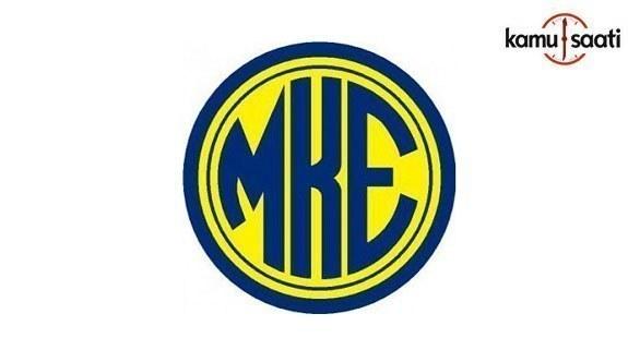 MKE Genel Müdürlüğü Personel Yönetmeliğinde değişiklik yapıldı