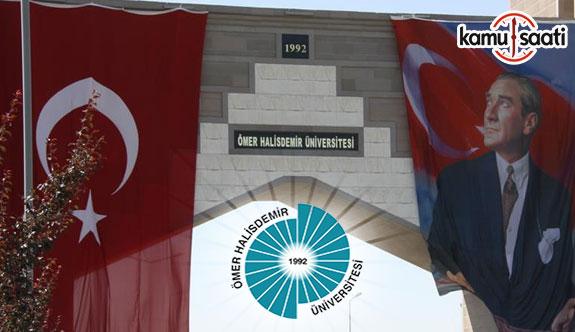 Niğde Üniversitesi Ön Lisans ve Lisans Eğitim-Öğretim ve Sınav Yönetmeliğinde Değişiklik Yapıldı