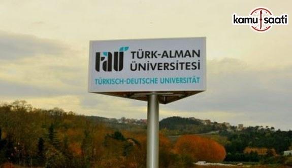 Türk-Alman Üniversitesi Göç ve Uyum Uygulama ve Araştırma Merkezi Yönetmeliği