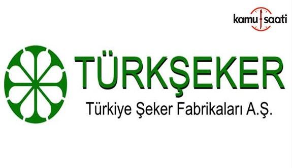 Türkiye Şeker Fabrikaları A.Ş. Genel Müdürlüğü Personel Yönetmeliğinde Değişiklik