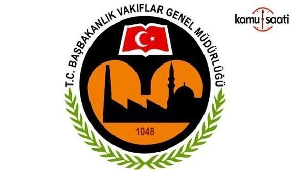 Vakıflar Genel Müdürlüğü Yükseköğrenim Burs Yönetmeliğinde Değişiklik Yapıldı - 12 Ekim 2017