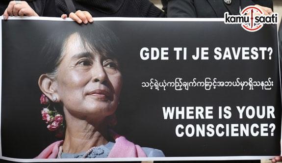 Aung San Suu Çi İslam karşıtlığında Trump, Le Pen ve Wilders'i geride bıraktı
