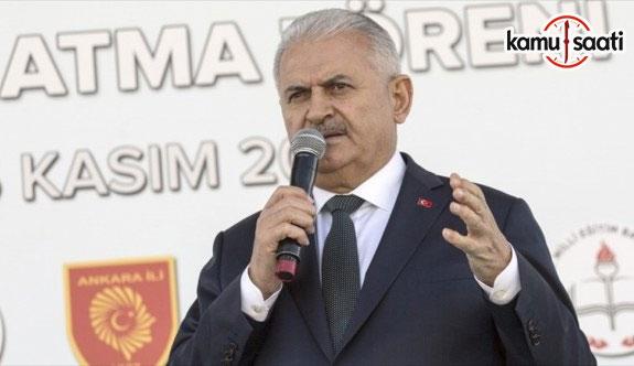 Başbakan Yıldırım: 2019 sonuna kadar Türkiye'de tekli eğitime geçeceğiz
