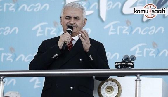 Başbakan Yıldırım: Türkiye'yi teröre teslim etmeyeceğiz
