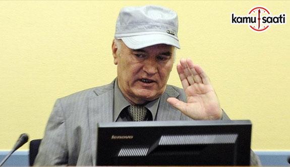 'Bosna kasabı' Mladic hakkındaki karar yarın açıklanacak