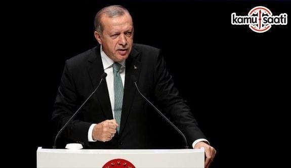 """Cumhurbaşkanı Erdoğan """"gücenmek yok"""""""