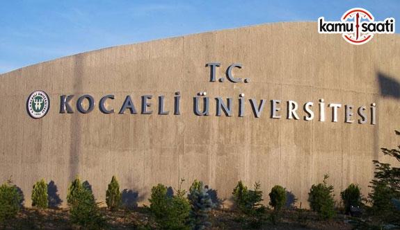 Kocaeli Üniversitesi'ne ait bir yönetmelik değişikliği ile bir yönetmeliğin yürürlükten kaldırılması