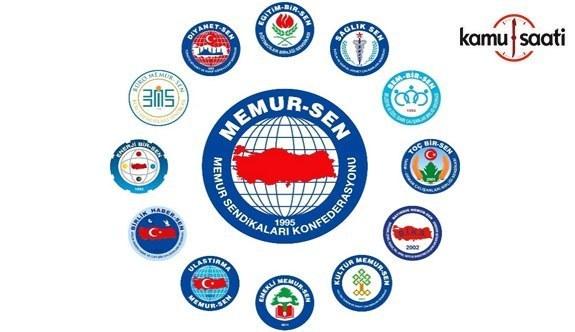 Memur-Sen Ankara İl Başkanı Mustafa Kır yazılı basın açıklaması yaptı