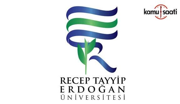Recep Tayyip Erdoğan Üniversitesi Lisansüstü Eğitim ve Öğretim Yönetmeliğinde Değişiklik Yapıldı