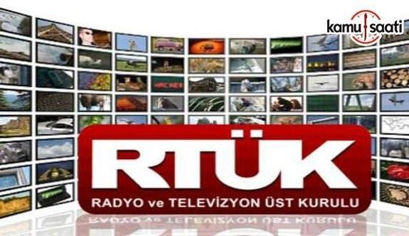 RTÜK'ten 17 medya kuruluşunun yayın hakları iptal etti