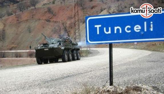 Tunceli'de 30 bölge özel güvenlik bölgesi ilan edildi! Operasyon başlıyor!