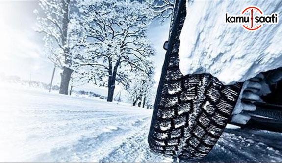 Zorunlu kış lastiği uygulaması yarın başlıyor