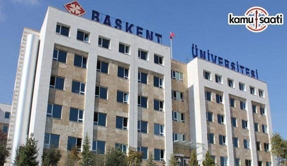 Başkent Üniversitesi Önlisans ve Lisans Eğitim-Öğretim ve Sınav Yönetmeliğinde Değişiklik Yapıldı