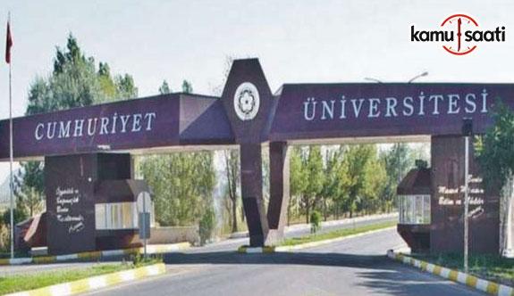 Cumhuriyet Üniversitesi Proje Koordinasyon Merkezi Yönetmeliğinde Değişiklik Yapıldı