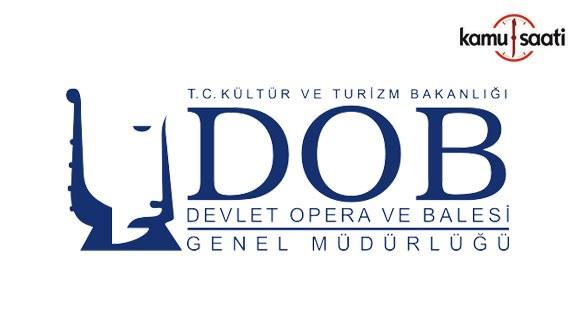 Devlet Opera ve Balesi Genel Müdürlüğü Personel Yönetmeliğinde Değişiklik Yapıldı