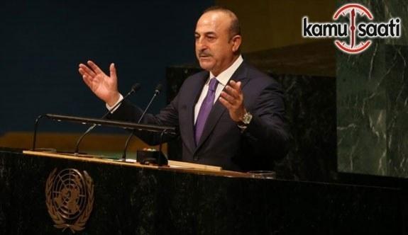 """Dışişleri Bakanı Çavuşoğlu: """"Türkiye asla Kudüs'ü yalnız bırakmayacaktır"""""""