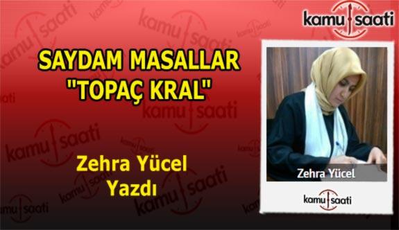 """SAYDAM MASALLAR """"TOPAÇ KRAL"""" - Zehra Yücel'in Kaleminden!"""