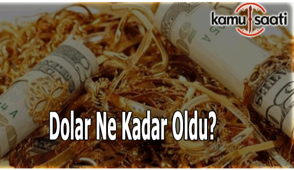 10 Ocak 2018 Dolar, Euro ve Altın fiyatları