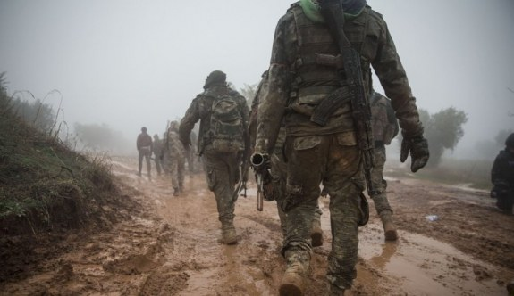 Afrin'e sızmak isteyen teröristlere şok
