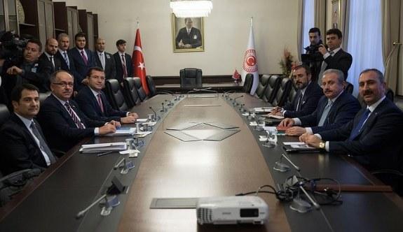AK Parti-MHP İttifak Komisyonu üyeleri ilk kez toplandı