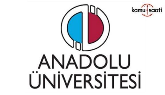 Anadolu Üniversitesi Lisansüstü Eğitim-Öğretim ve Sınav Yönetmeliğinde Değişiklik Yapıldı