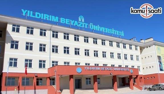 Ankara Yıldırım Beyazıt Üniversitesi Merkez Araştırma Laboratuvarı Uygulama ve Araştırma Merkezi Yönetmeliği