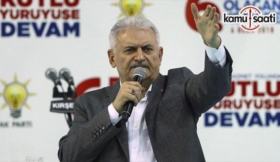 Başbakan Yıldırım: 2018'de 170 milyar dolar ihracat hedefini de tutturacağız