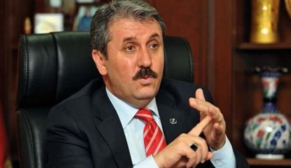 BBP Genel Başkanı Mustafa Destici'den Afrin açıklaması