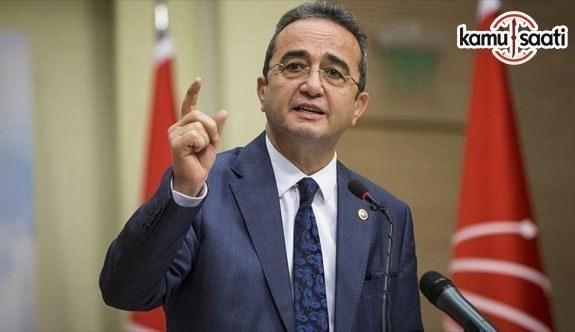 CHP Genel Parti Sözcüsü Tezcan: Meşru bir harekatı savaş edebiyatına dönüştürürseniz, kirletirsiniz
