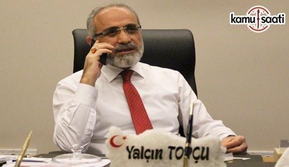 Cumhurbaşkanı Başdanışmanı Topçu, Irak Türkmen Cephesi Lideri Salihi ile görüştü