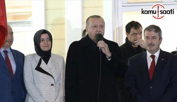 Cumhurbaşkanı Erdoğan: Acırsak acınacak hale geliriz