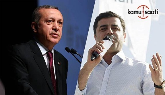 Demirtaş, Erdoğan'a tazminat ödeyecek