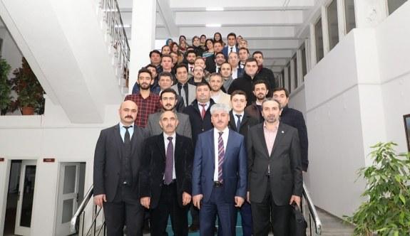 Eğitim-Bir-Sen Kars 1 No'lu Şube Başkanı Ilgar, işyeri temsilcileri ile buluştu