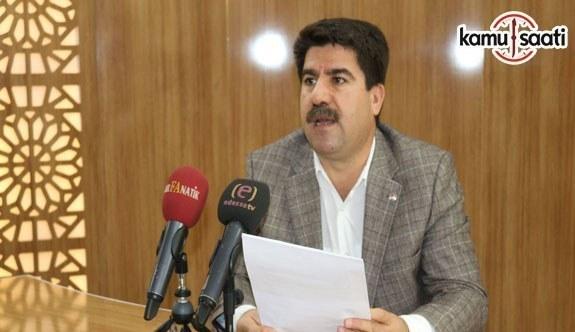 Eğitim Bir-Sen Şanlıurfa Şube Başkanı İbrahin Coşkun'dan soruşturma açıklaması