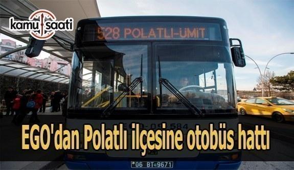 EGO'dan Polatlı ilçesine otobüs hattı