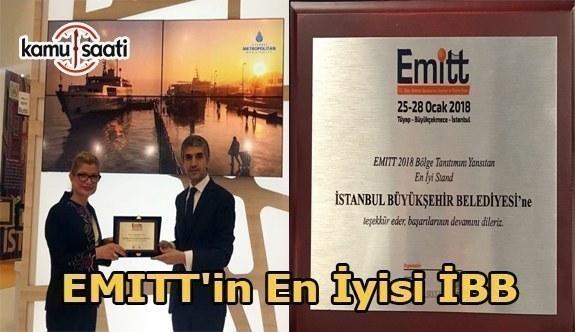 İstanbul Büyükşehir Belediyesi EMITT'in en iyisi seçildi