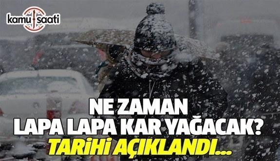 İstanbul'da beklenen kar yarı yıl tatilinde geliyor