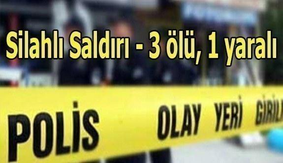 Konya'da iş adamlarına silahlı saldırı