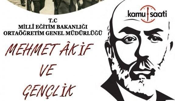 """MEB'den """"Mehmet Âkif ve Gençlik"""" konulu Deneme Yazma Yarışması"""