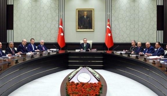 MGK, Cumhurbaşkanı Erdoğan başkanlığında toplandı