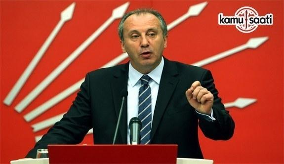 Muharrem İnce, CHP Genel Başkanlığı'na aday oldu